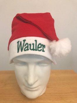 Weihnachtsmütze   Wauler