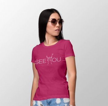 "T-Shirt LADY | ""SEE YOU"""