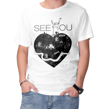 "T-Shirt | ""Bergischland-Herz"" (SEE YOU)"