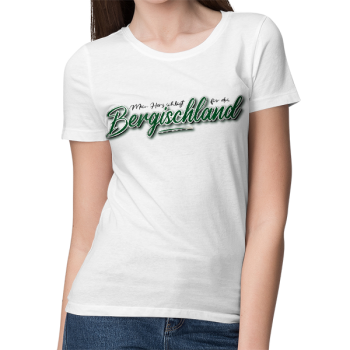 "T-Shirt LADY | ""Bergischland 2-seitig"" (SEE YOU)"